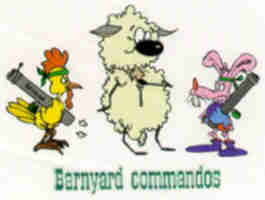 4-H Logo for Barnyard Commandos 4-H Club